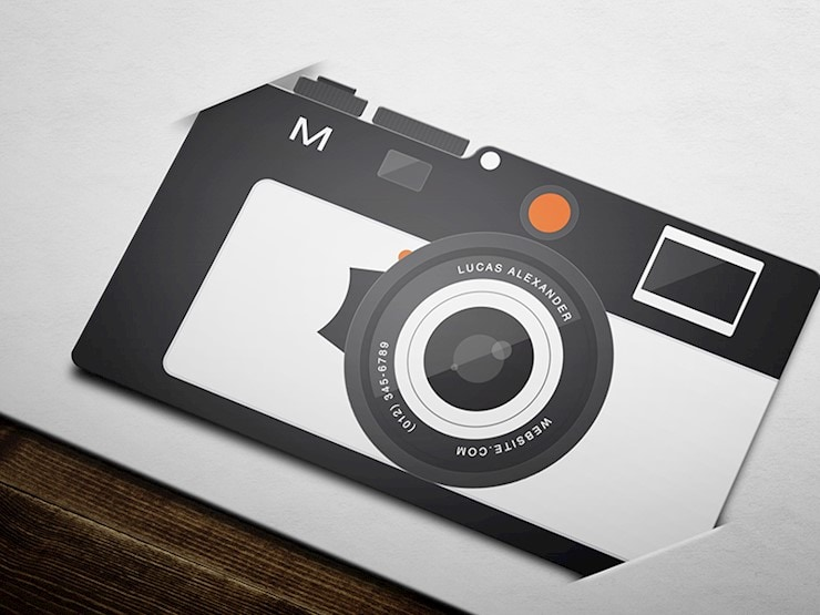 flat-camera-business-card