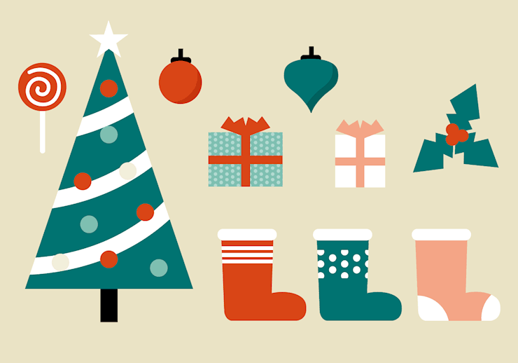 free-christmas-elements-vector