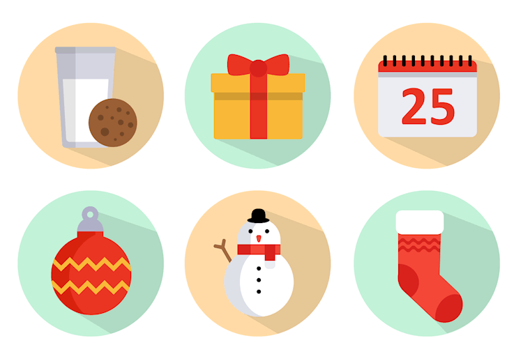 free-christmas-icons-vector-pack