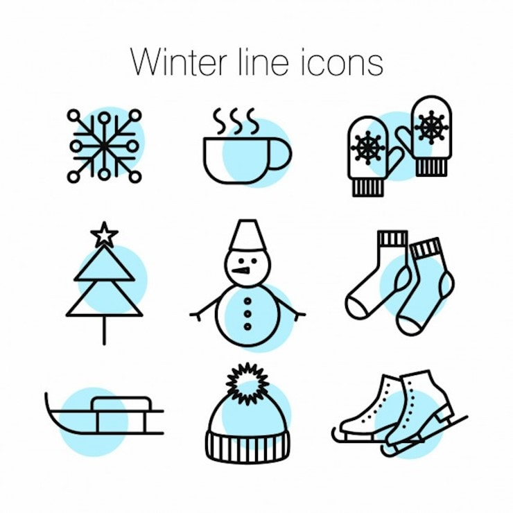 green-icons-about-winter