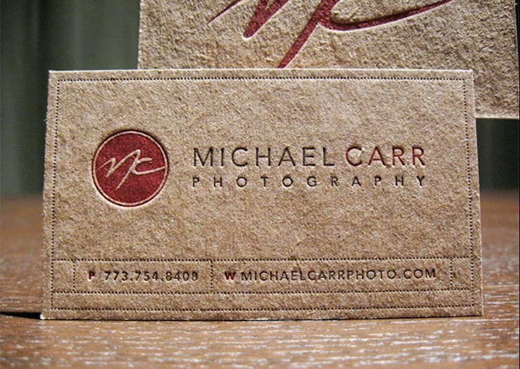 kraft-letterpress-business-card