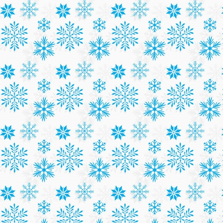 snow flakes pattern desgin background
