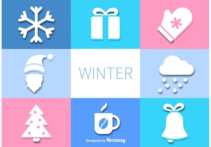 vector-winter-icons