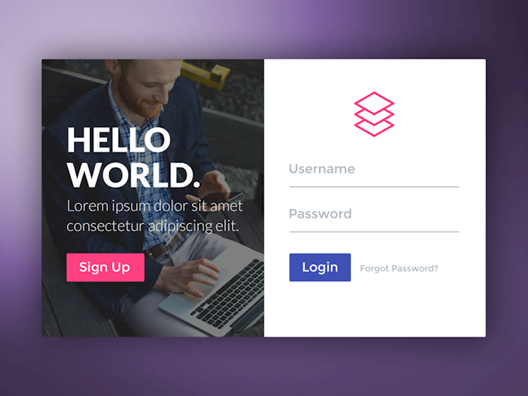 form-login-small