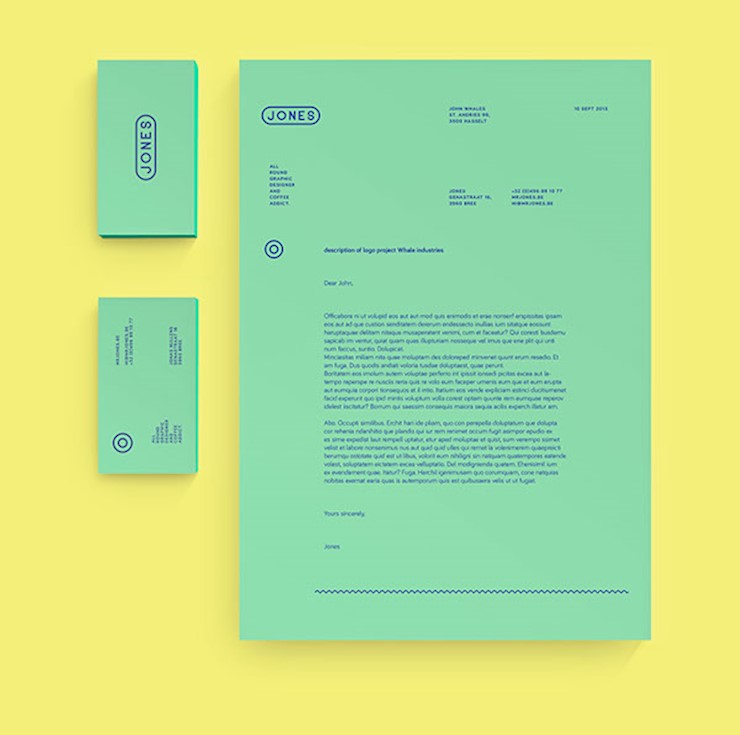 green resume design