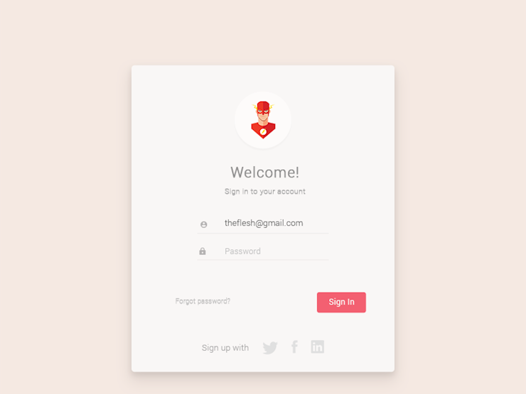 login-sign-up-form-page