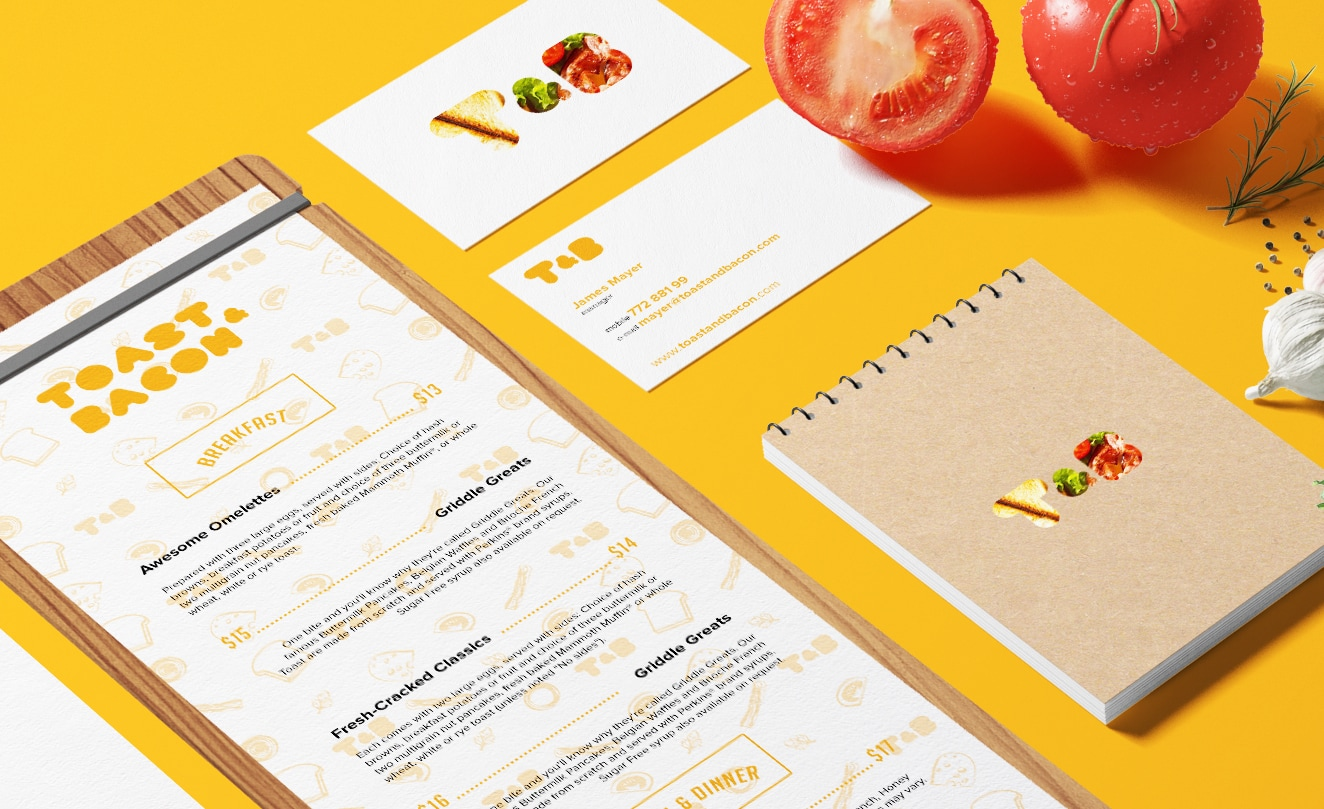 20 Gorgeous Restaurant Menu Designs - Hipsthetic