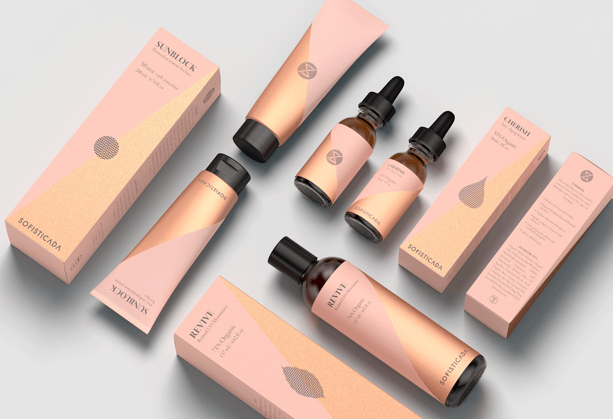 Cosmetics packaging designs