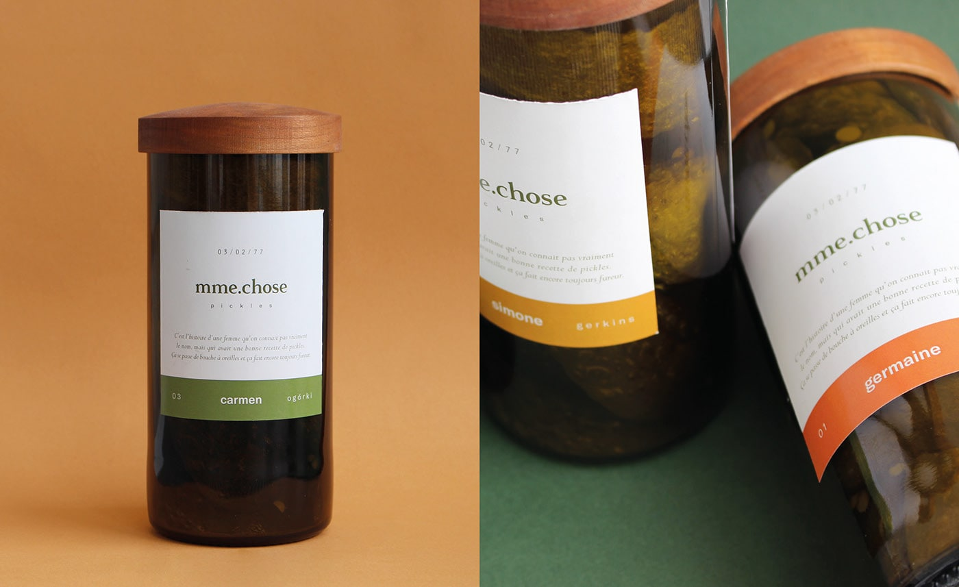Pickles Packaging Design