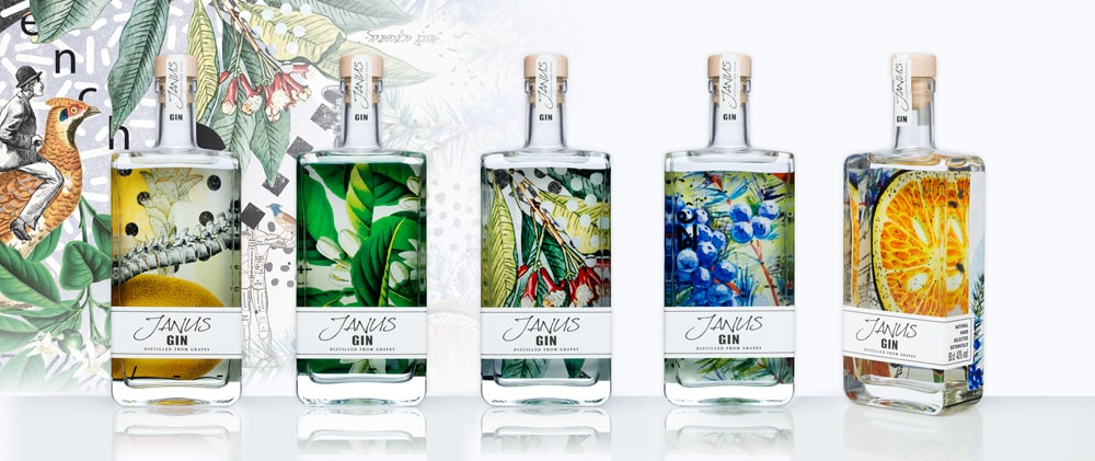 Gin Packaging Design