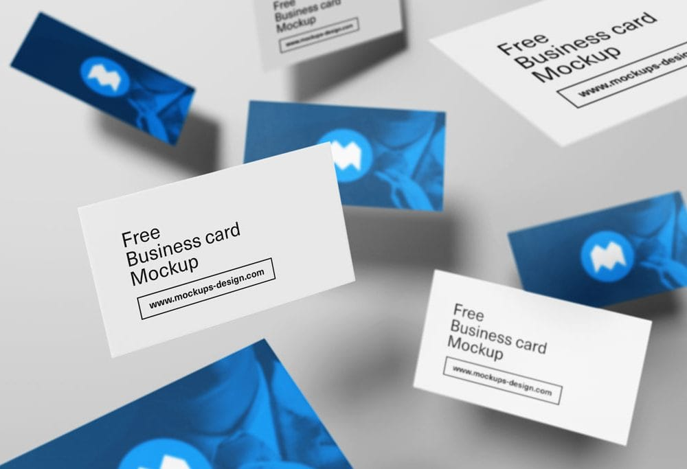 Free Business Card Mock-ups