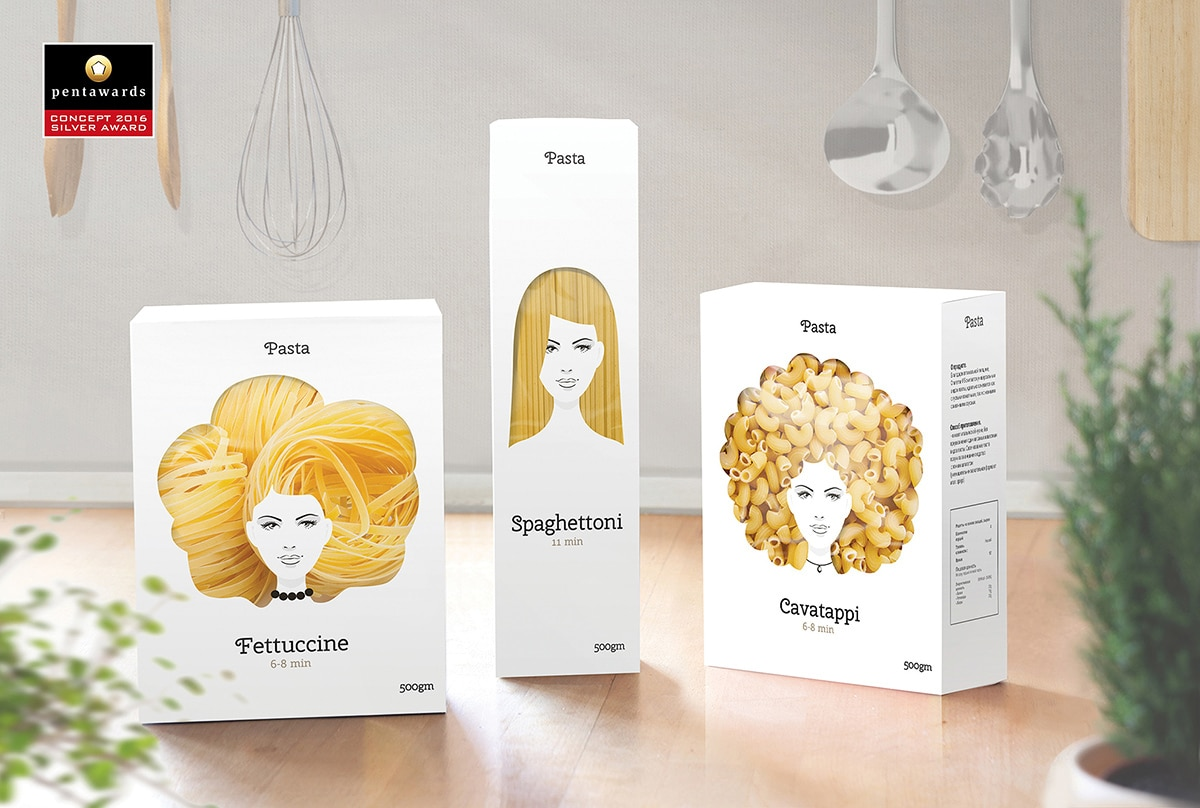 Pasta Packaging Design