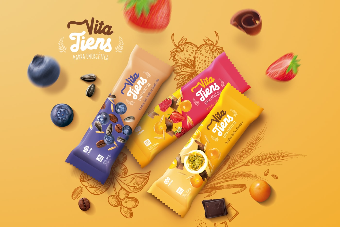 Cereal Bar Packaging Design