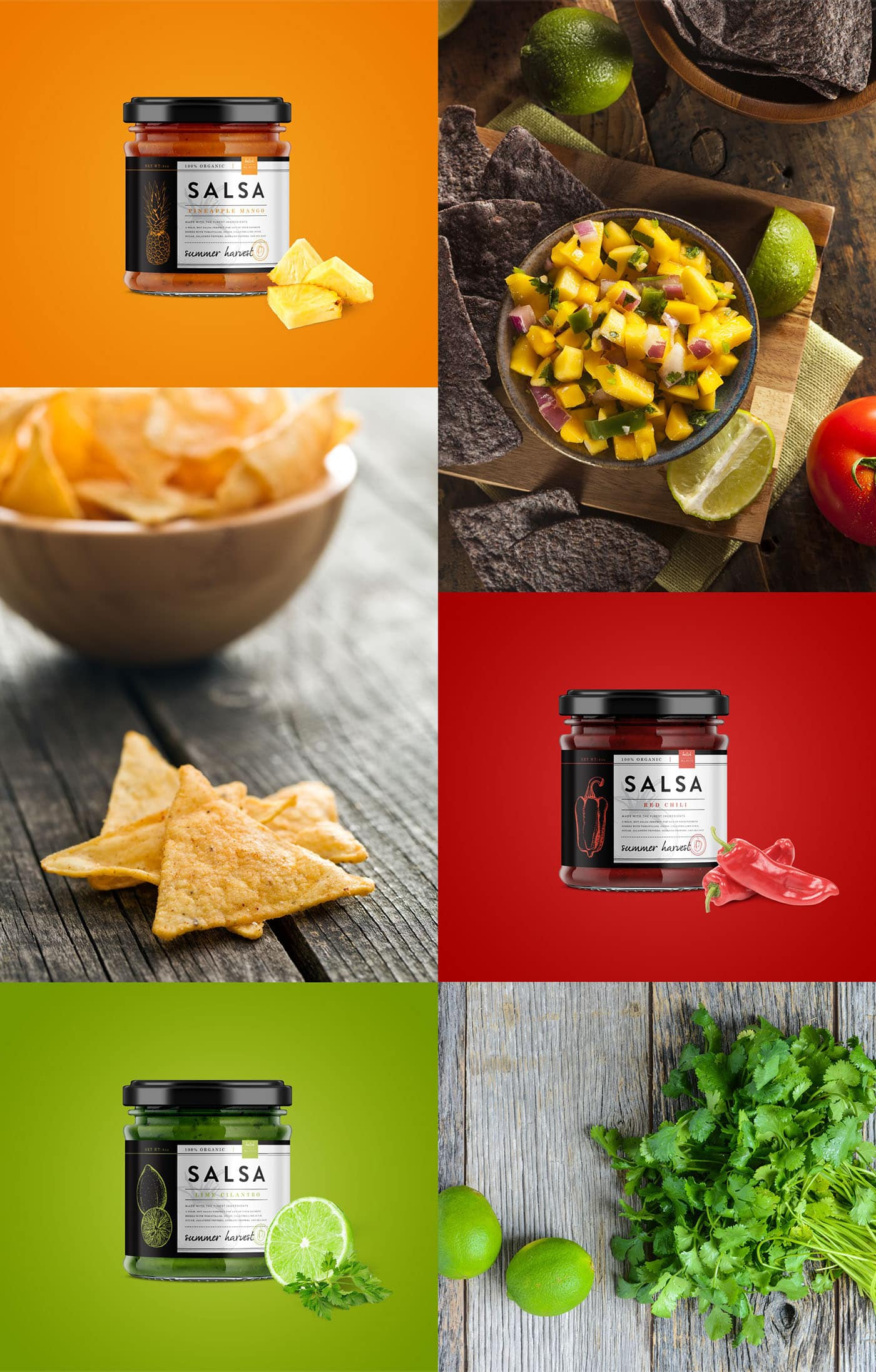 Salsa Unique Packaging