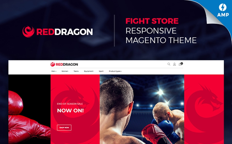 MMA Shop Magento Template