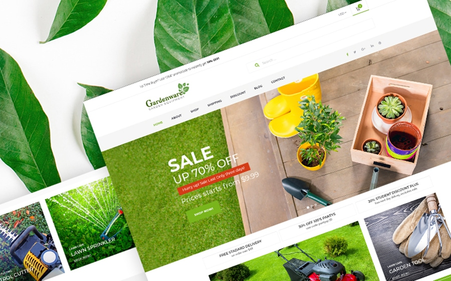 Sale Time! 10+ Website Templates With An Up To 50% Discount