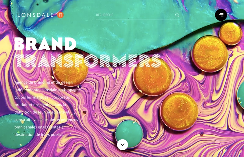 20 Eye-catching Websites Using Vibrant Colors