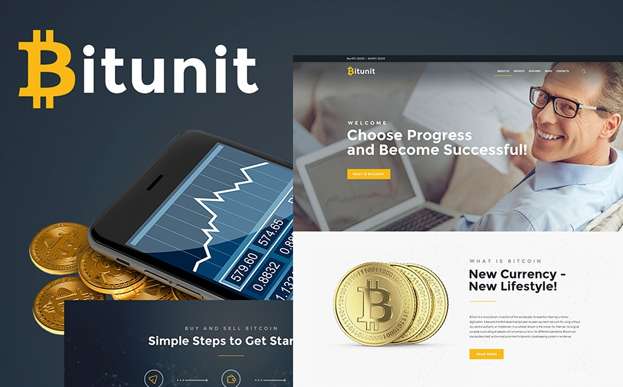 bitcoin wordpress themes