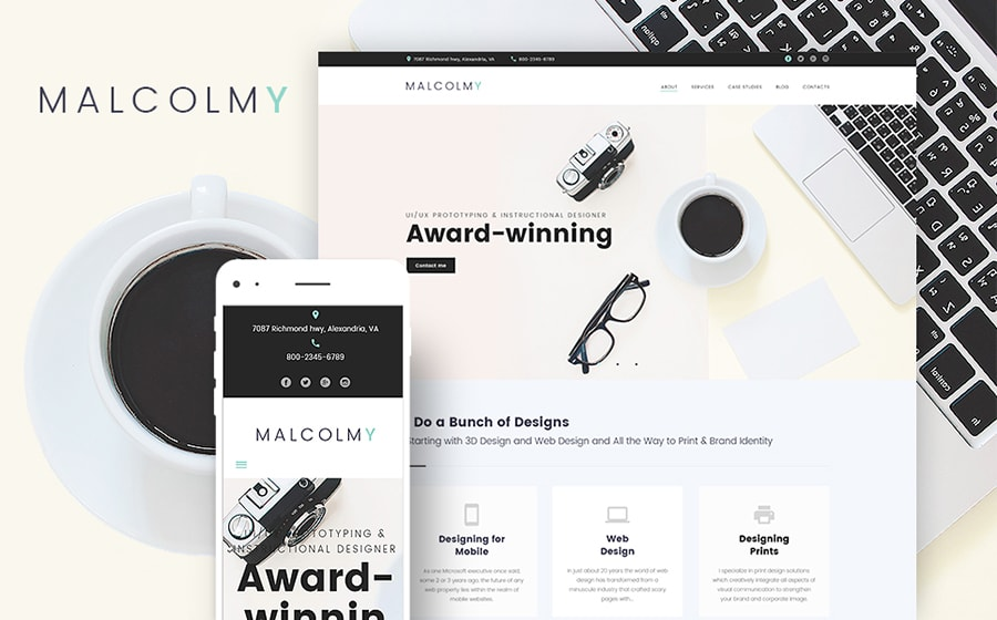 designer site wordpress themes