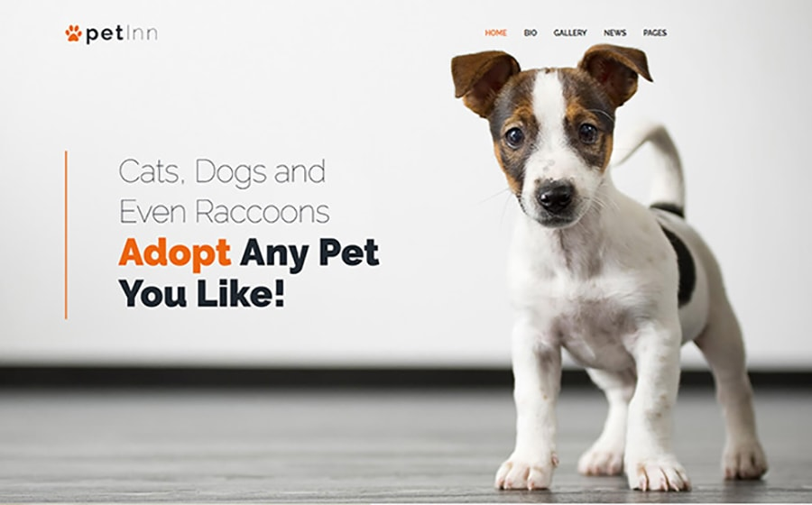 Animals & Pets WordPress themes