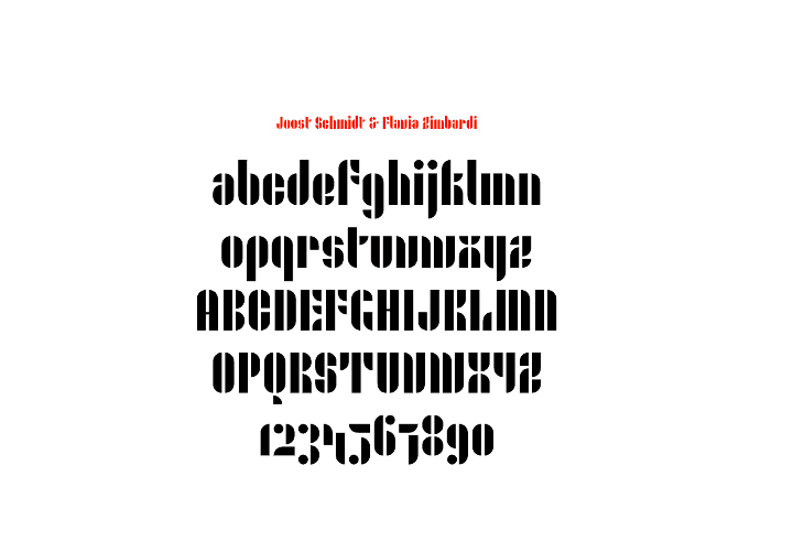 Bauhaus Inspired Fonts