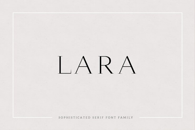 lara-sophisticated-serif-typeface