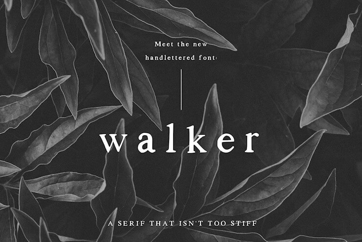 walker-a-handlettered-serif