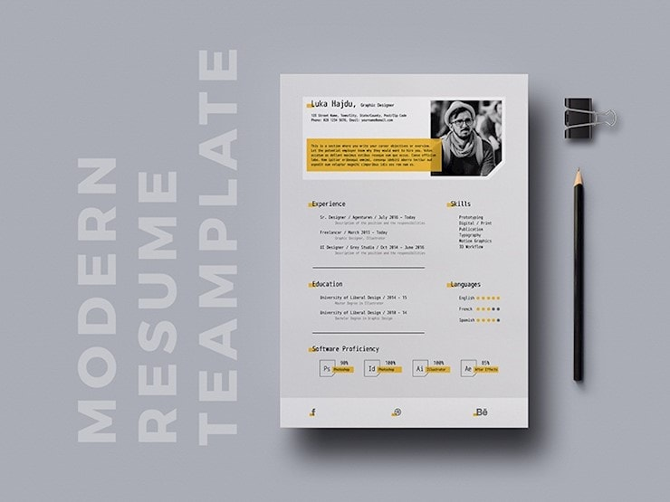 free-modern-resume-template