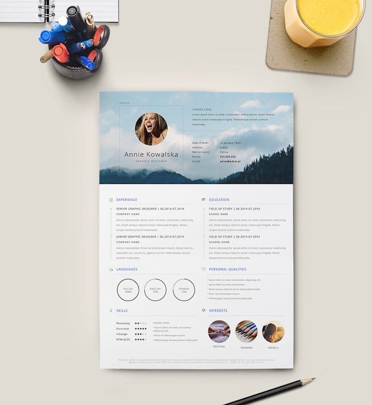 graphic-designer-resume-template