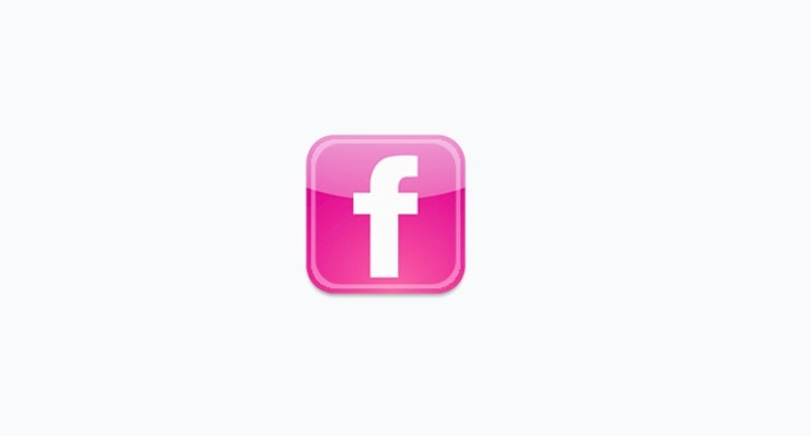 pink-facebook-icon