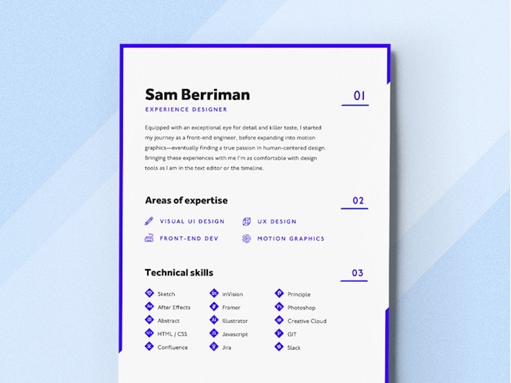 purple-resume