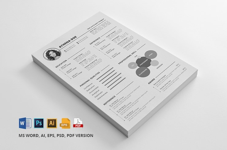 resume-freebie-ai-psd
