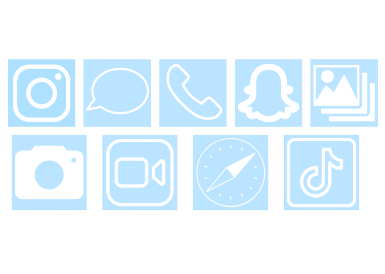 Change The Iphone Icon Aesthetic Instagram Icon Aesthetic Facebook Weather And More Hipsthetic